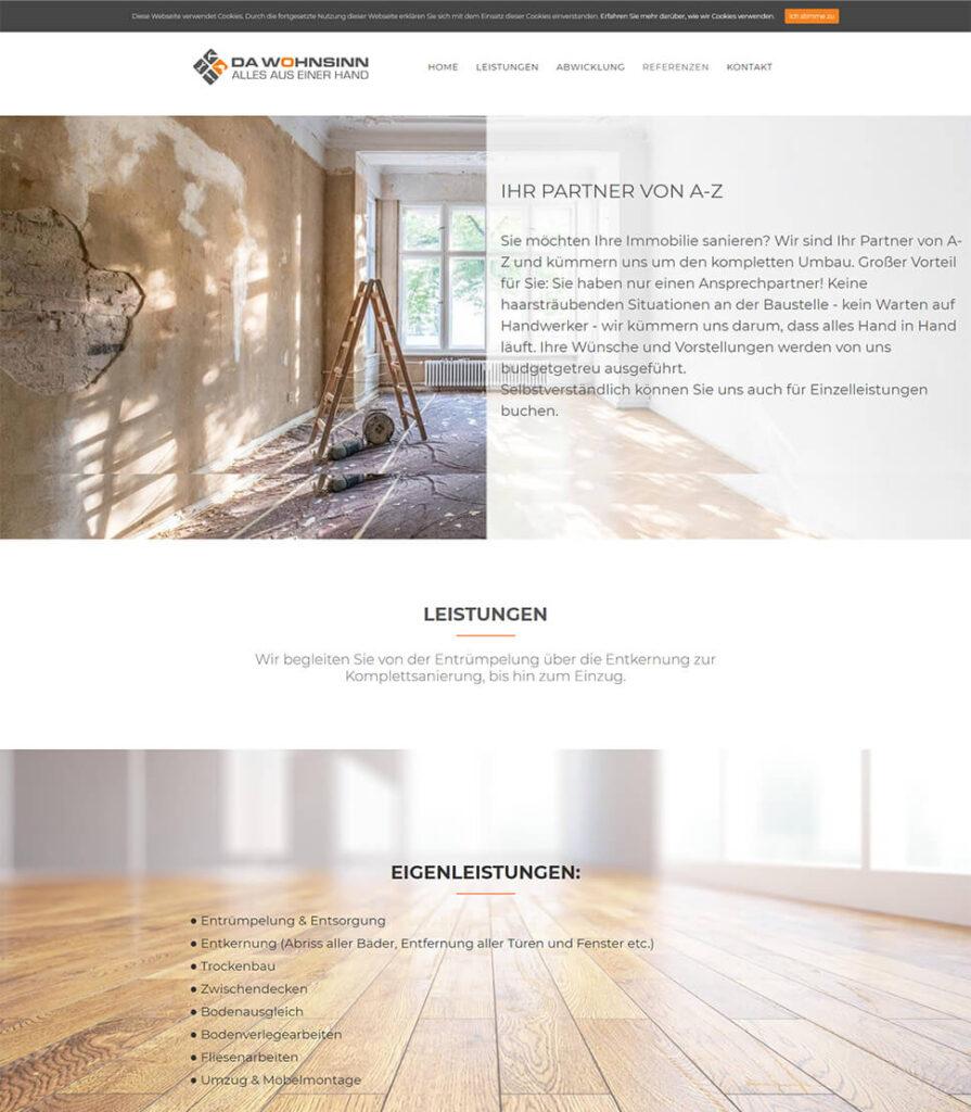 Designiero portfolio - Da Wohnsinn