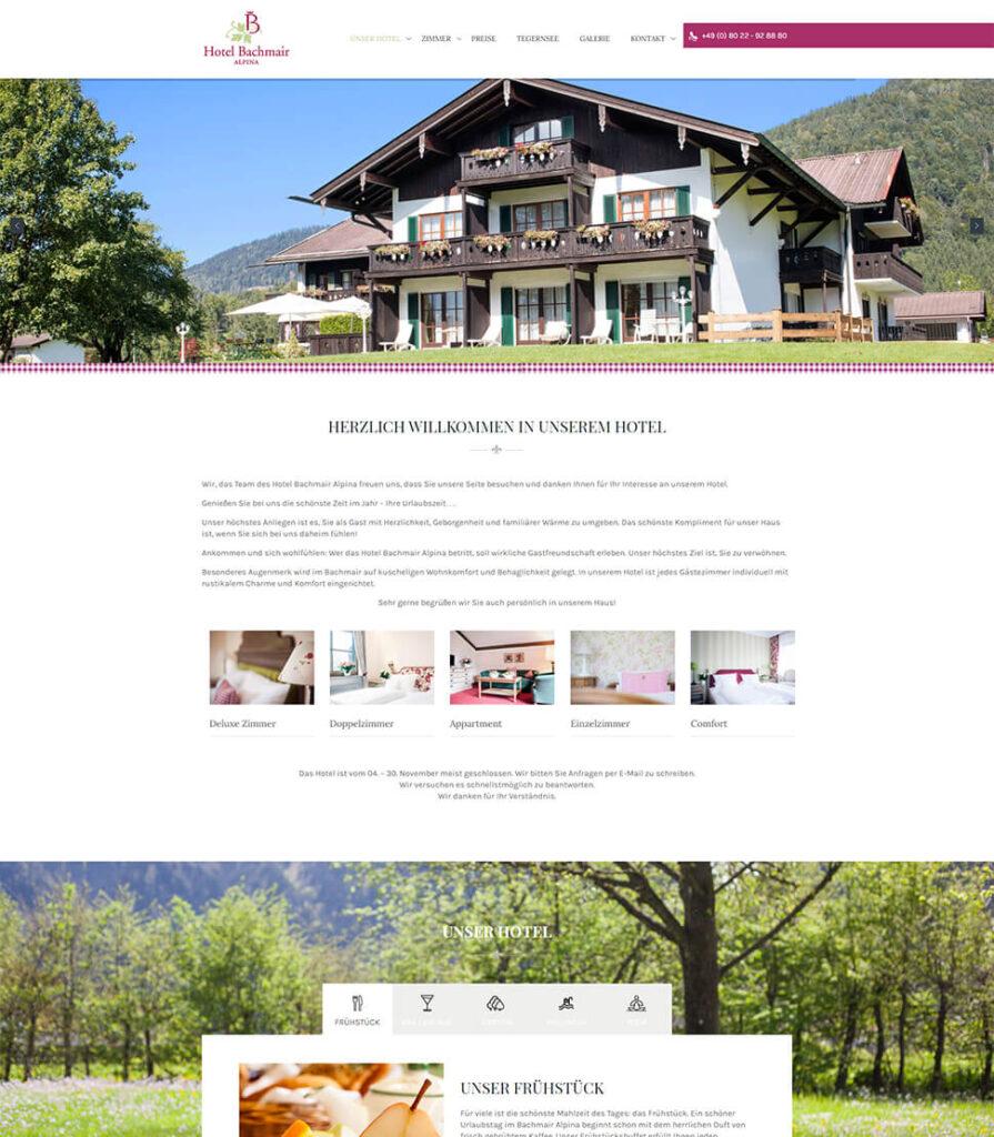 Designiero portfolio - Hotel Bachmair