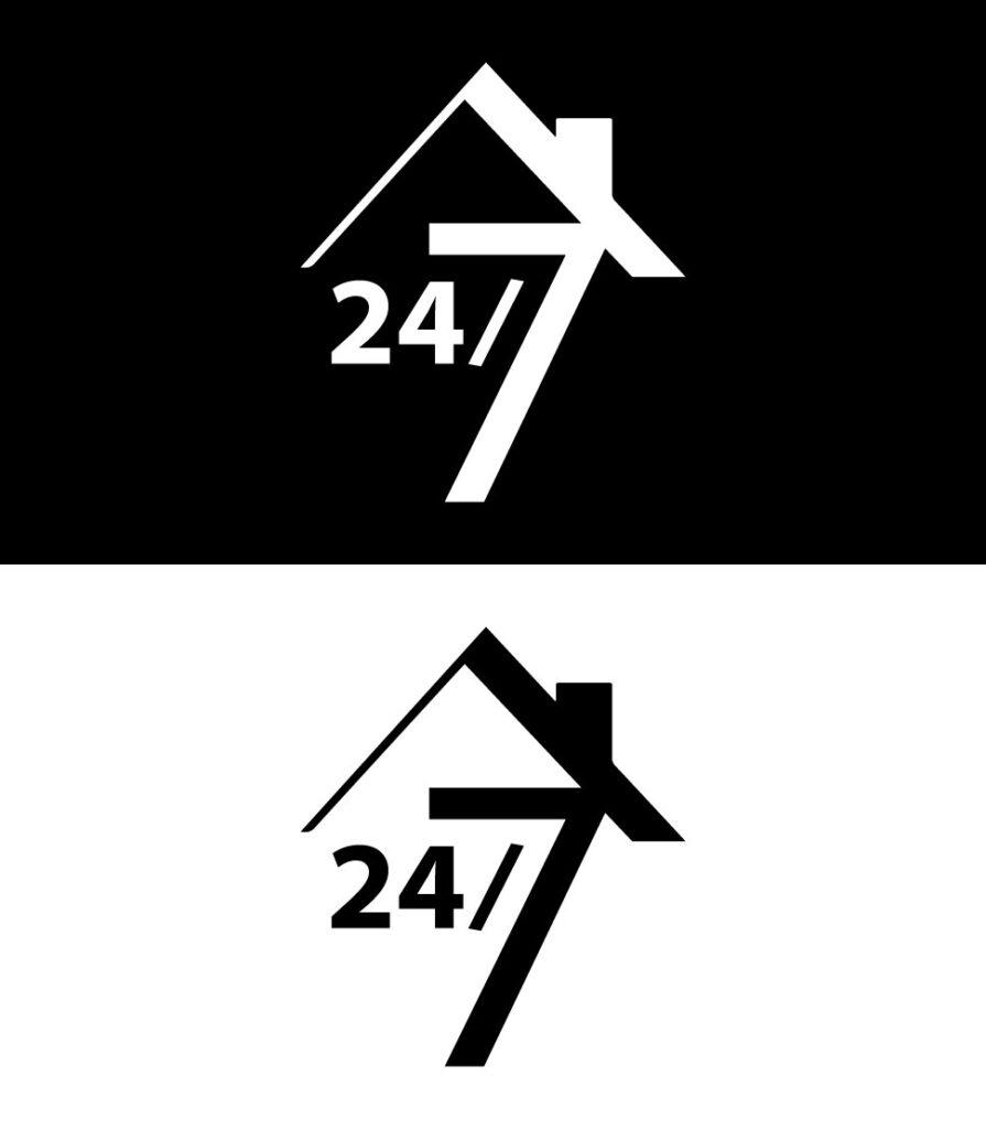 Designiero portfolio - Logo 24-7