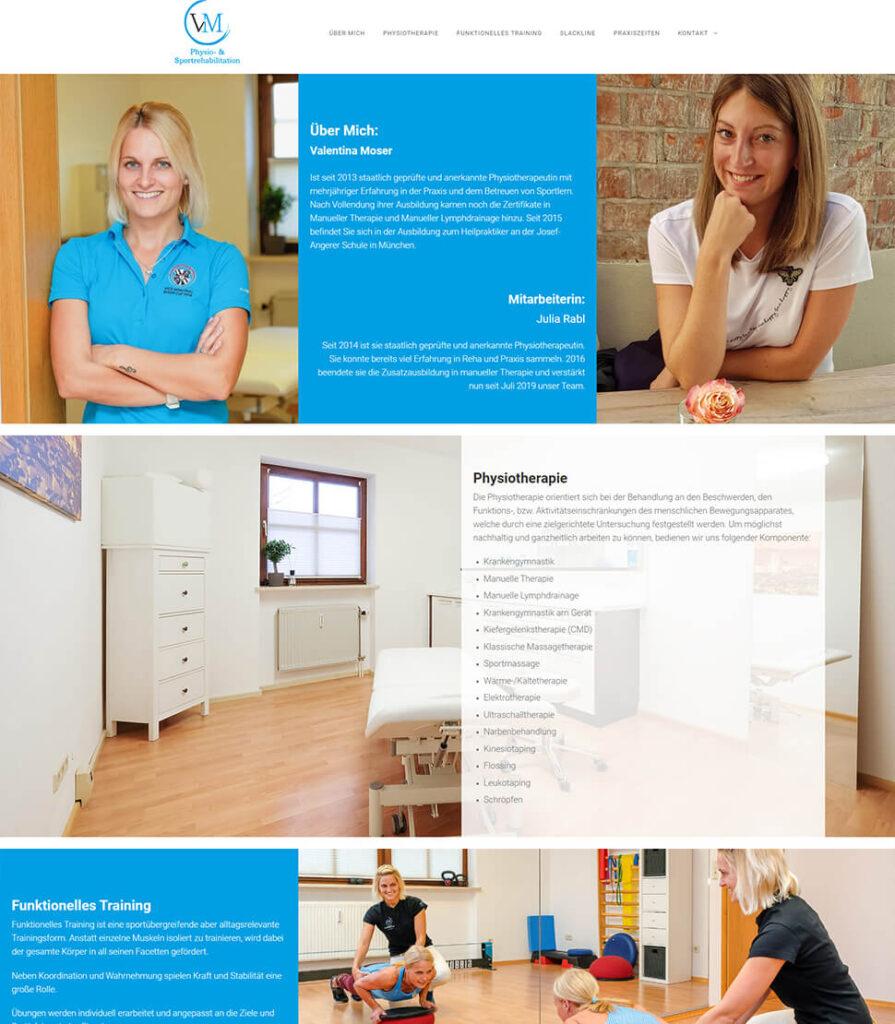 Designiero portfolio - VM Physio